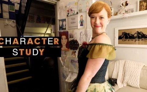 来看《冰雪奇缘》百老汇音乐剧饰演安娜的演员Patti Murin的化妆间故事