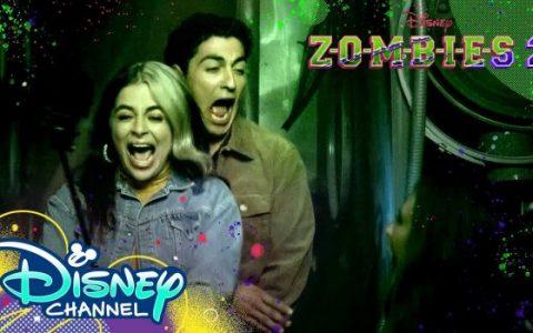 《少年僵尸2》主演Baby Ariel和Trevor Tordjman闯鬼屋的视频来了!